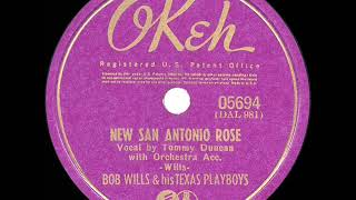 1941 HITS ARCHIVE: New San Antonio Rose - Bob Wills (Tommy Duncan, vocal)