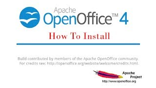 How to install Open Office Org for Windows