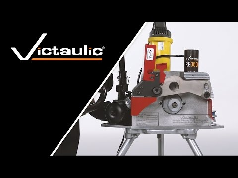 Victaulic RG3600 Pipe Roll Grooving Tool Set-Up and Operation Reference