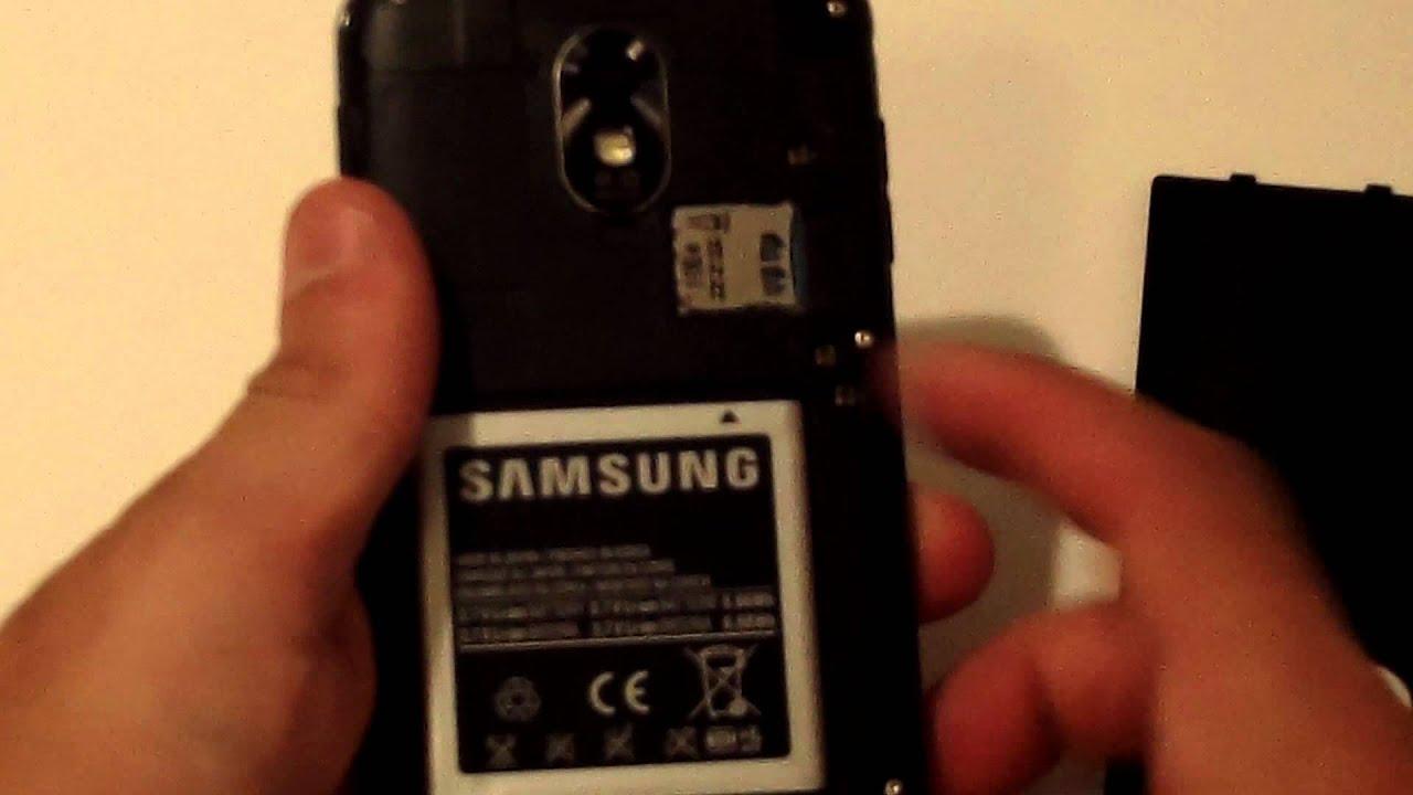 Samsung Galaxy S2 - How to Remove Battery/Back/Sim Card - Fliptroniks.com - YouTube