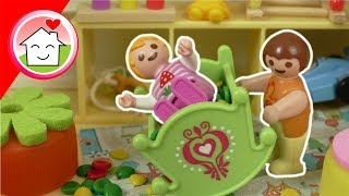 Playmobil Film Familie Hauser - Mia in der Krabbelgruppe - Spielzeug Video für Kinder