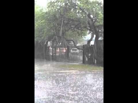 Hail Storm@ the Villas of Castle Hills