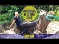 Как я корчевал 40 летние пни с помощью лебедки mp3
