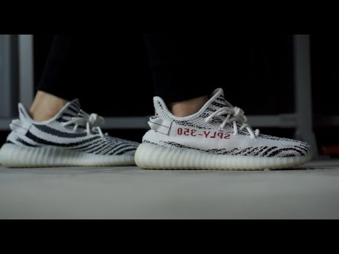 REVIEW + ON FEET : ADIDAS YEEZY V2 ZEBRA