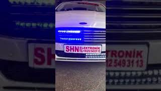 Mondeo siren Çakar led lamba polis sireni kumandalı gizli siren  tel:+90535 597 3231