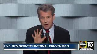 FULL: U.S. Senator Sherrod Brown - Democratic National Convention