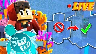 LIVE - Minecraft: The Deep End SMP! - Righting My Wrong's...