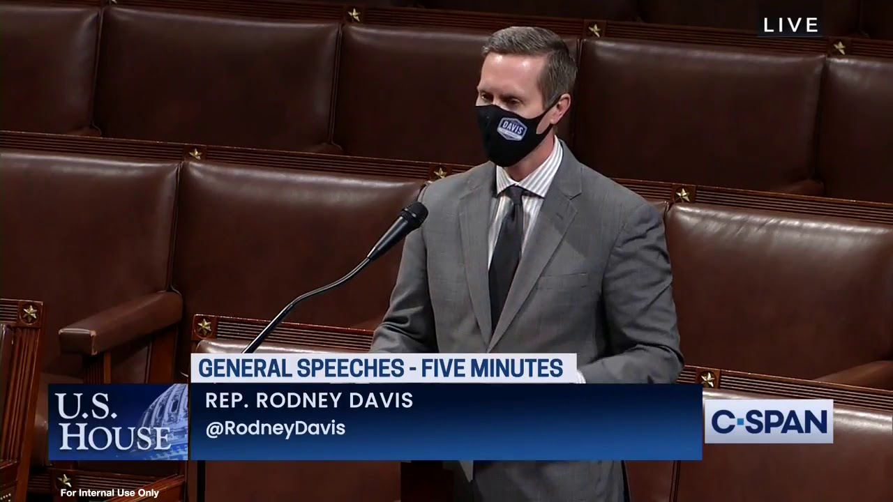 Rep. Rodney Davis Remembers the Life of Rosemarie Long