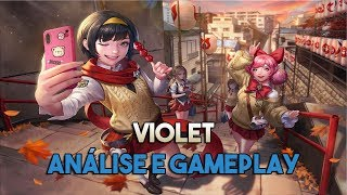 Violet! Análise e Gameplay! - Arena of Valor