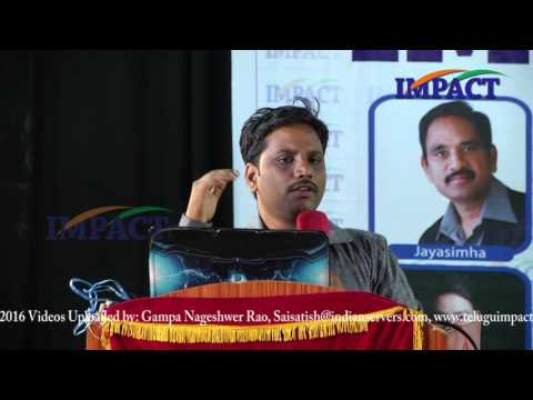 Smart Scale Industries by Sai Satish at IMPACT Hyderabad 2016