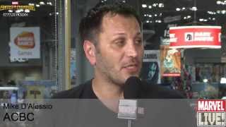 Michael D'Alessio Talks About ACBC in Atlantic City on Marvel LIVE! at NYCC 2014