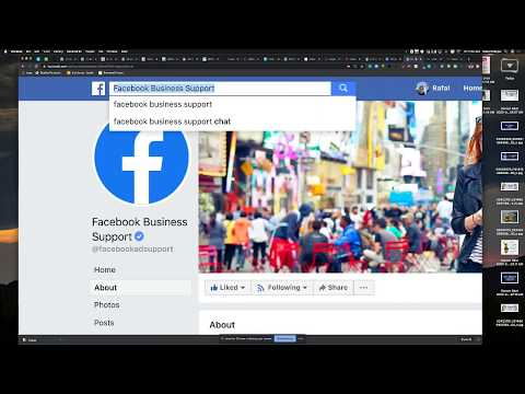How To Contact Facebook Business Support So You Can Talk To A Rep On One...