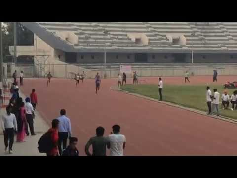 Under-18 400 m final at 90th Open Punjab Athletics Championship 2015