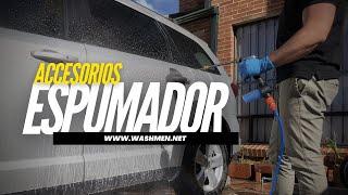 ESPUMADOR PARA LAVADO DE VEHÍCULOS / by WASHMEN