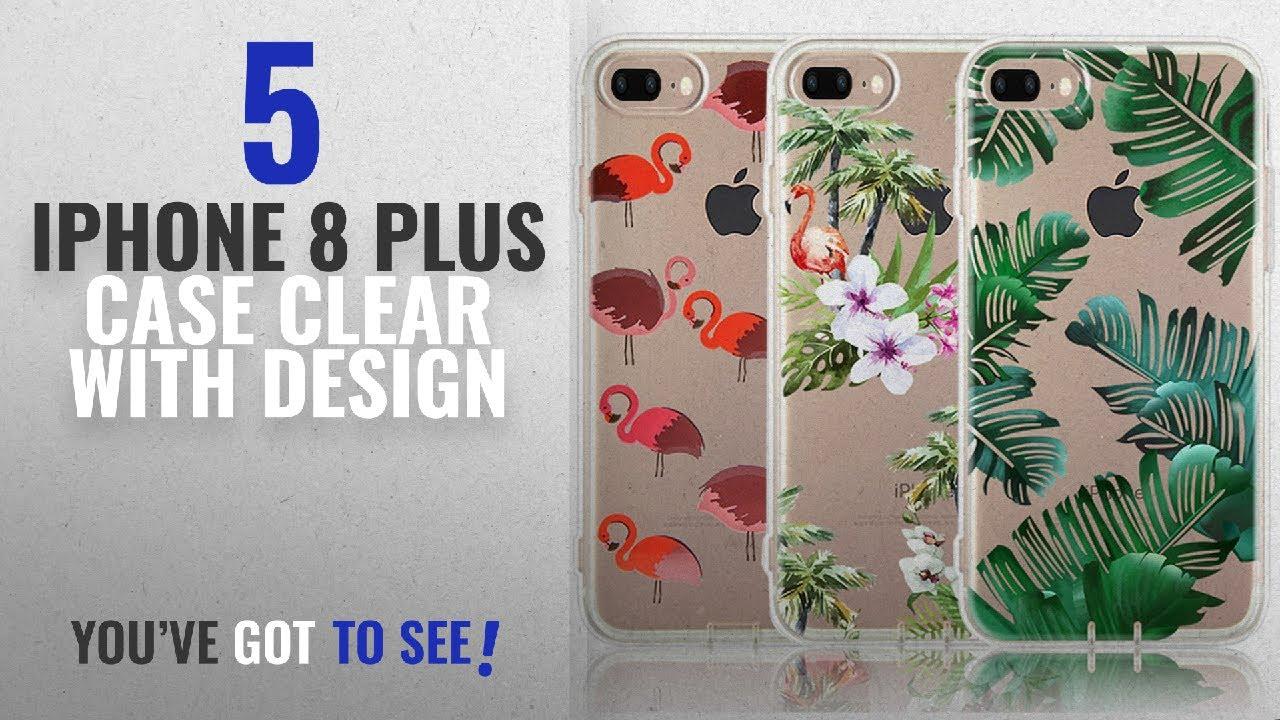 promo code e5b60 3a570 Top 5 IPhone 8 Plus Case Clear With Design [2018 Best Sellers]: iPhone 8  Plus Case, iPhone 7 Plus