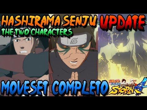 [DLC UPDATE] Naruto Storm 4: Alive + Edo Tensei Hashirama Senju (Shodai Hokage) Moveset Completo