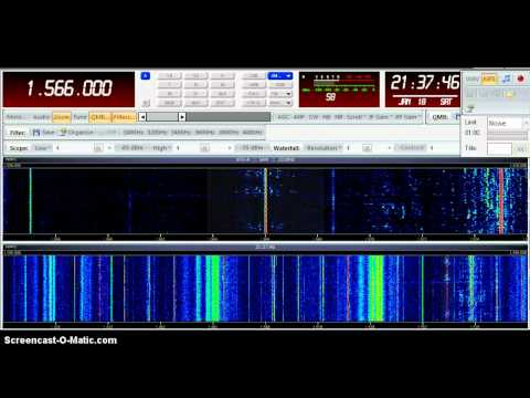 SDR-IQ South Korea Radio 1566 kHz