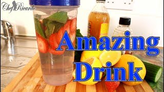 Amazing Drink For Detoxing Your Body And Help You To Lose Weight | Recipes By Chef Ricardo