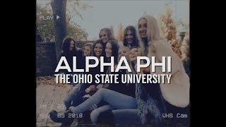 Alpha Phi Ohio State Recruitment 2019