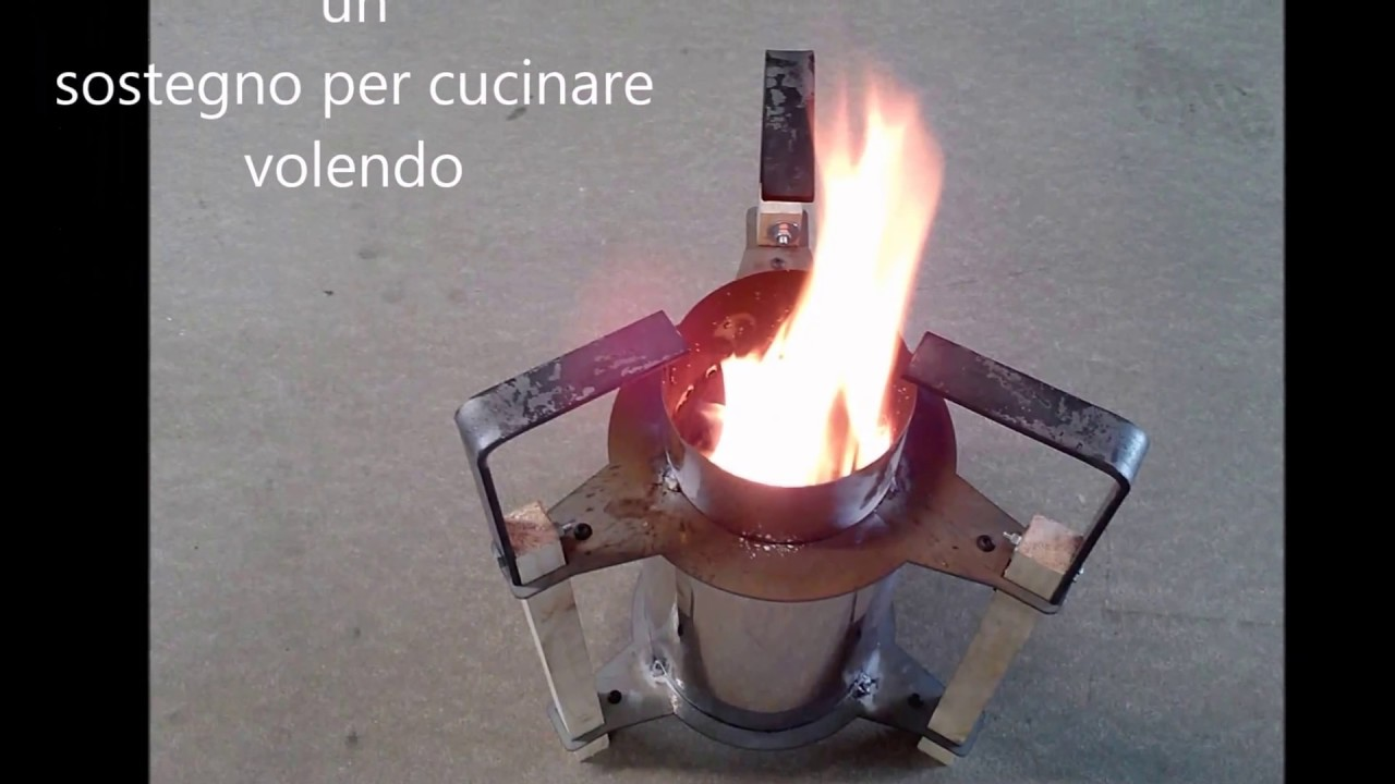 come costruire una stufa pirolitica tutorial youtube