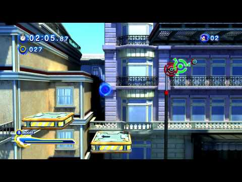 City Escape - Sonic Generations