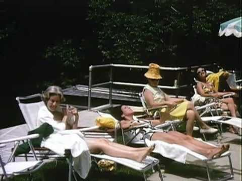 Lady Bird Johnson Home Movie 41 Lbj And Others At Camp David Youtube
