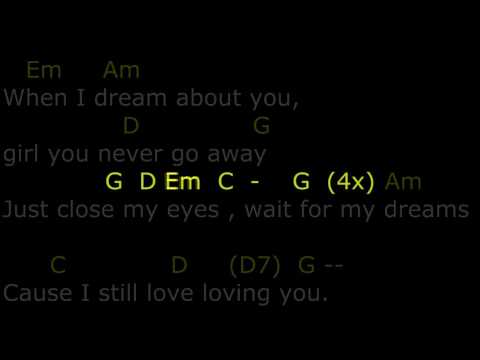 Dream about you lyrics and chords