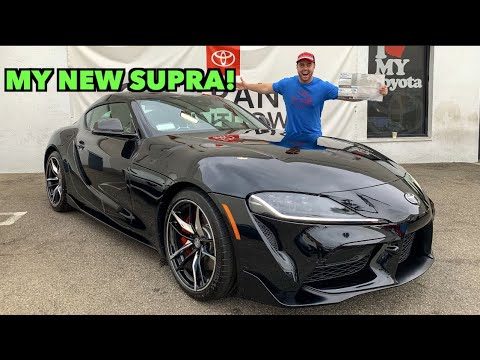 TAKING DELIVERY OF MY 2020 TOYOTA SUPRA!