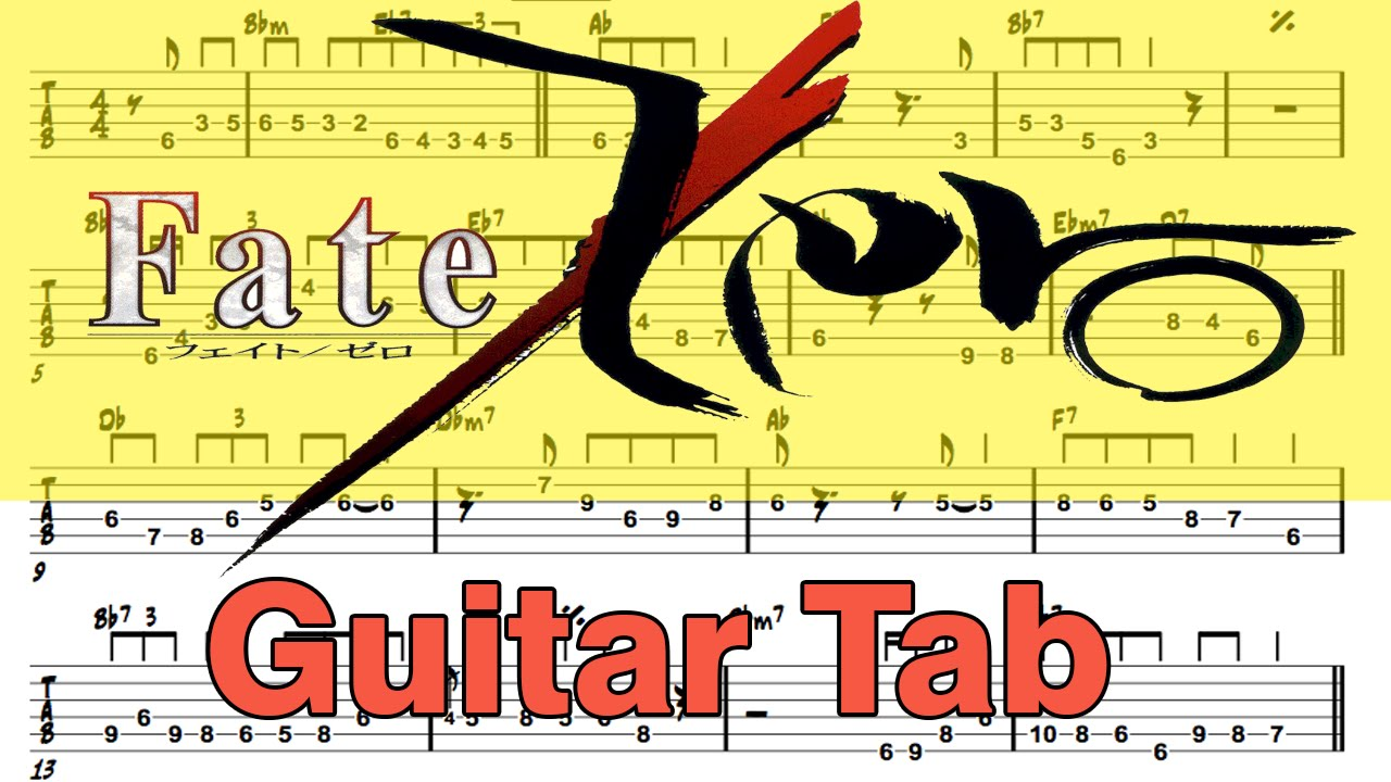 Easy to learn acoustic guitar tab