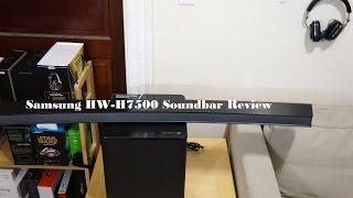 Samsung HW-H7500 Curved Soundbar Review