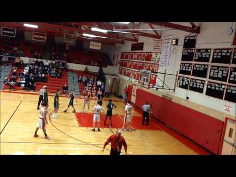 Glens Falls vs Rice Memorial (VT) High School Basketball - 1/21/17