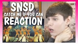One of Dylan Jacob's most viewed videos: MV Reaction | GIRLS' GENERATION_Catch Me If You Can