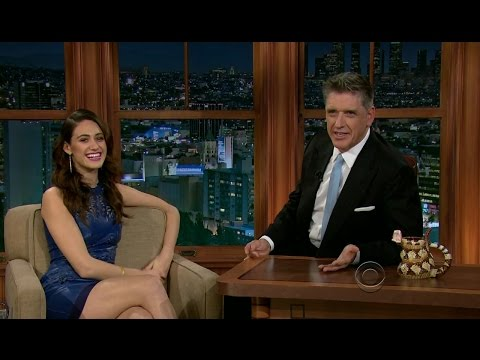 Late Late Show with Craig Ferguson 2/6/2013 Emmy Rossum, Jon Ronson