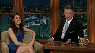 Late Late Show with Craig Ferguson 2/6/2013 Emmy Rossum, Jon Ronson