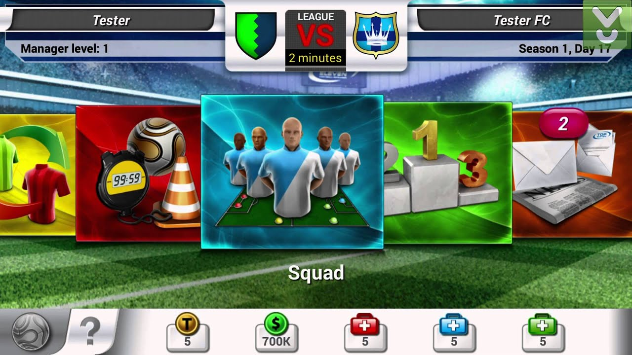 Top Eleven Football Manager apk android, pc et ios