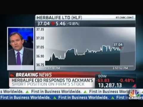 Is Herbalife A Pyramid Scheme   Hedge Fund Manager Bill Ackman says so !