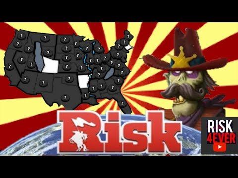 I HATE FOG OF WAR!!! (WITH GRANDMASTER) | Risk Global Domination U.S. Map