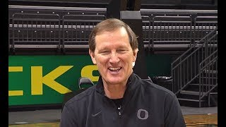 Oregon men's basketball head coach Dana Altman talks 'dramatic growth as a team,' preparation for...