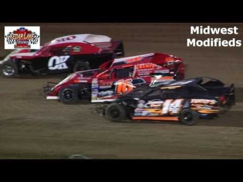 8-26-2016 Midwest Modifieds Cedar Lake Speedway