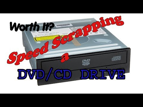 Worth Your Time Scrapping A DVD/CD Drive? You Be The Judge!
