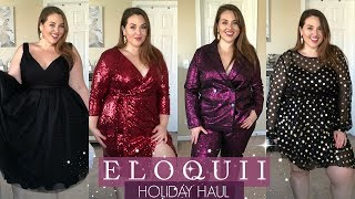 ELOQUII Holiday Try-On Haul 2018 |Plus Size Fashion|