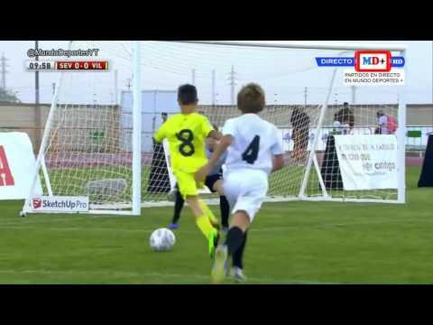 ISCAR CUP 2017. Sevilla F.C. vs Villarreal C.F