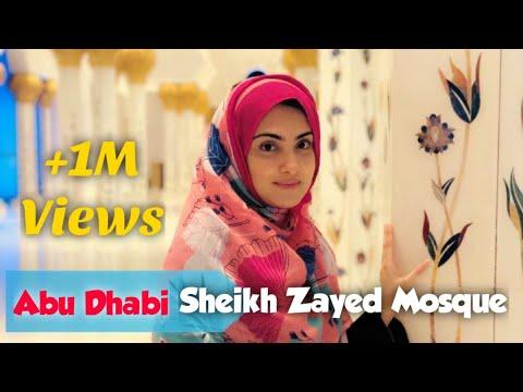 Abu Dhabi's Sheikh Zayed Grand Mosque Visit | UAE | Alizeh Tahir