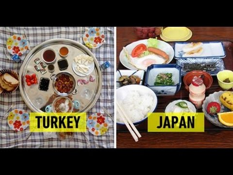 This Is What Breakfast Looks Like In 23 Countries Around The World