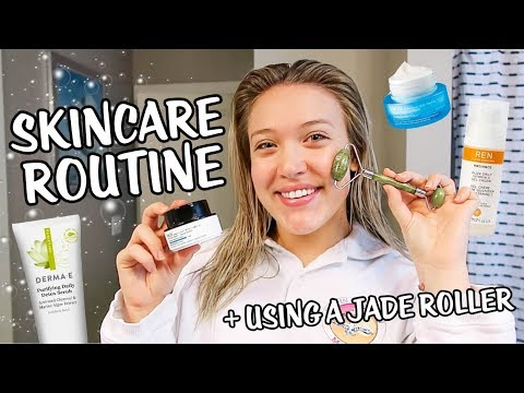 5 Step Skincare Routine + How to Use a Jade Roller