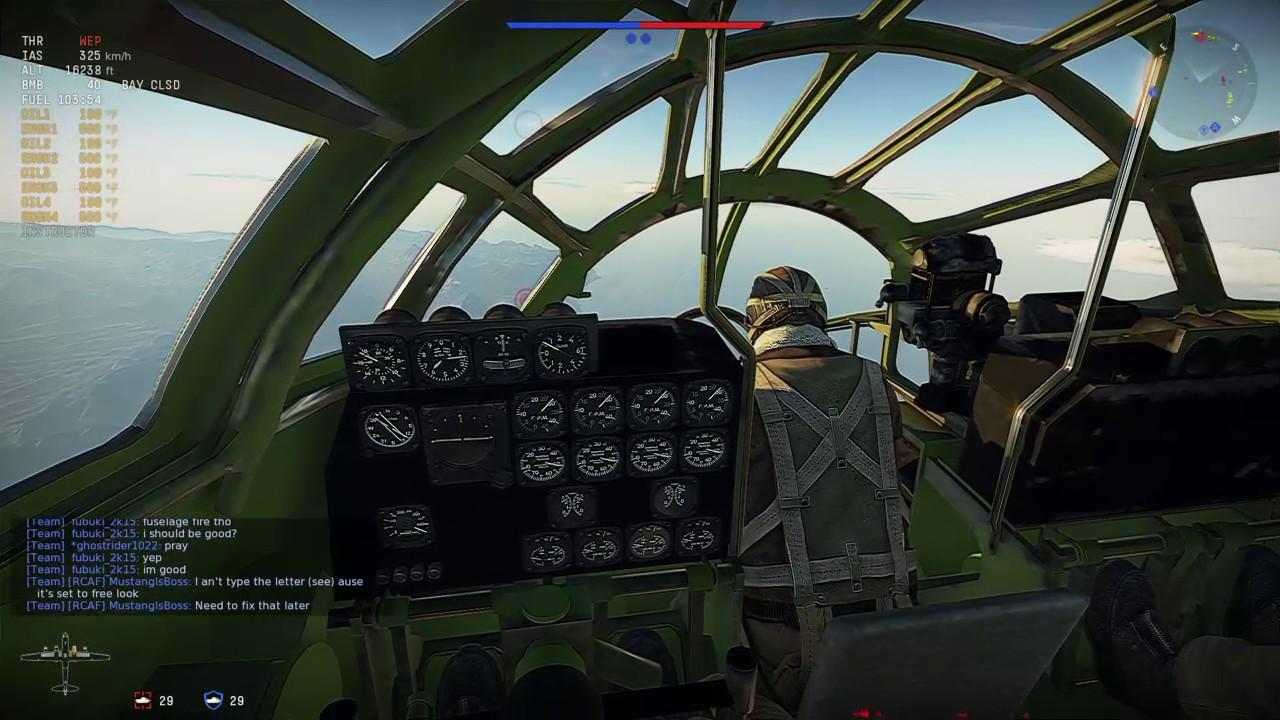 war thunder cockpits