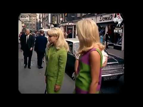 1967 - London Street Scenes (added sound w/ color remaster)