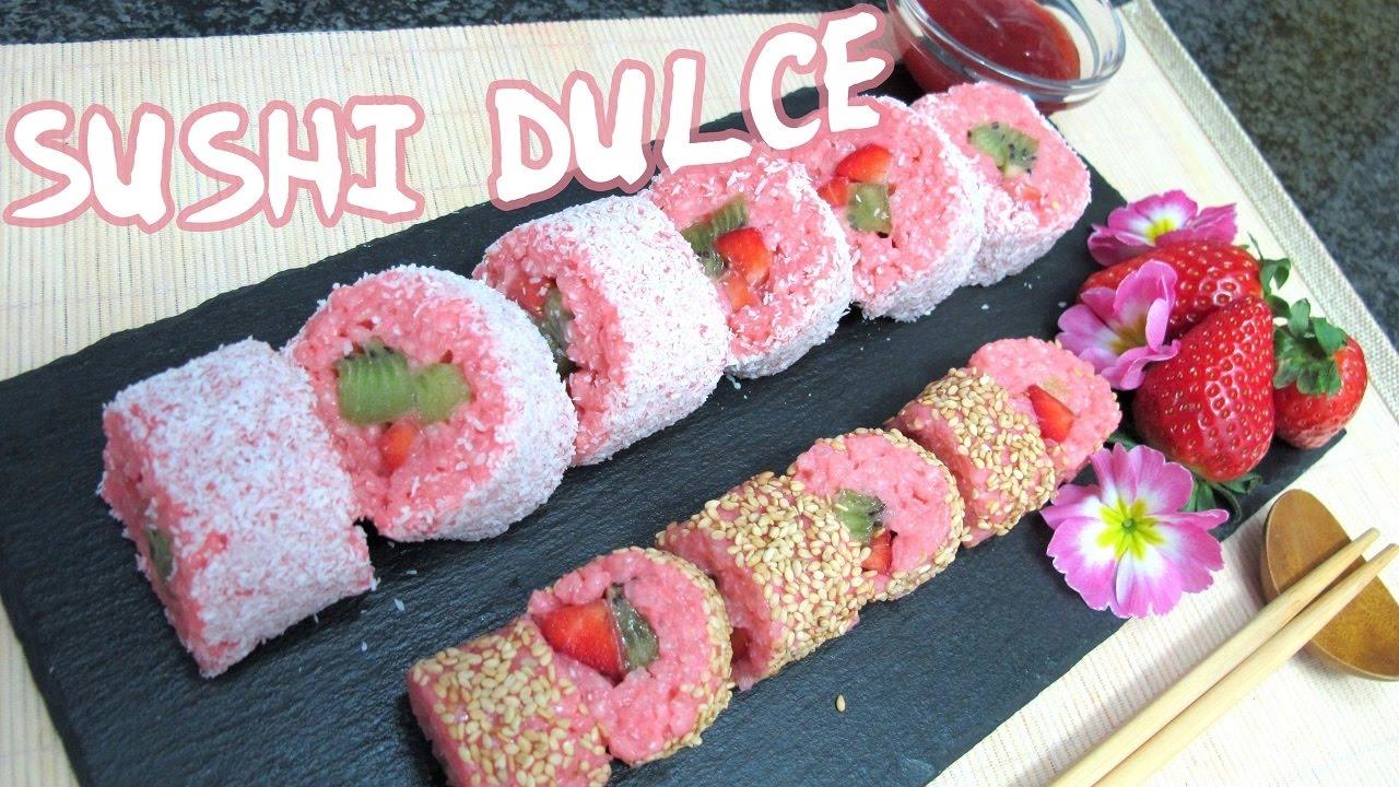 Resultado de imagen para sushi dulce