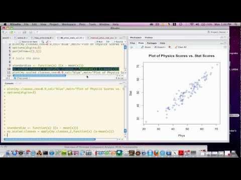 Principal Components Analysis Using R - P1 von YouTube · Dauer:  11 Minuten 13 Sekunden