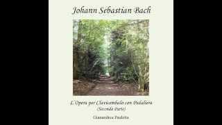 J. S. Bach : Trio Sonata n 2 BWV 526 in C minor - I° Vivace for pedal harpsichord (G.Pauletta)